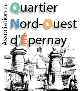 logo quartier nord ouest d'epernay